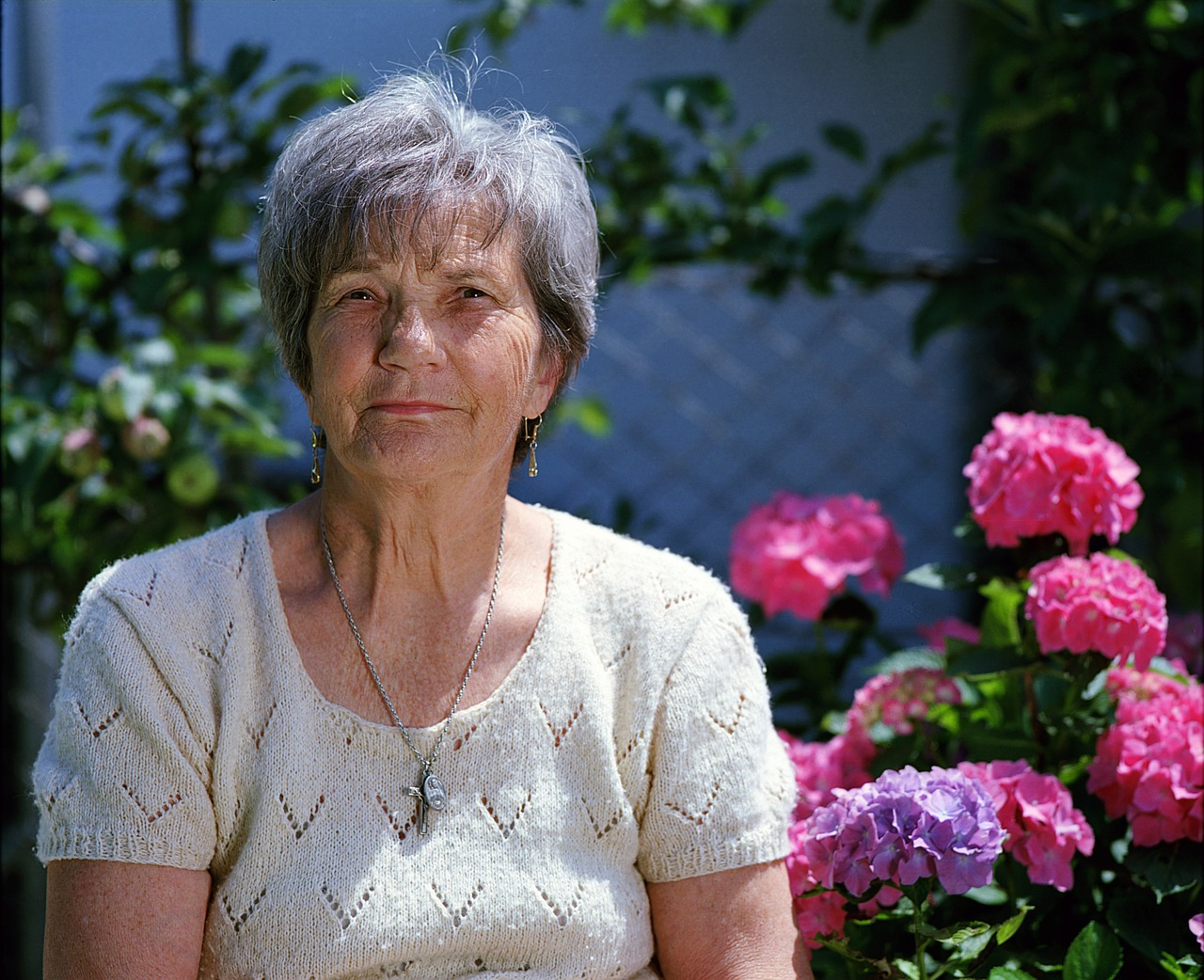 lady worried about caring for elderly relative
